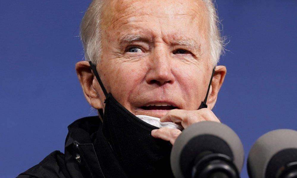 Kandidát na amerického prezidenta Joe Biden