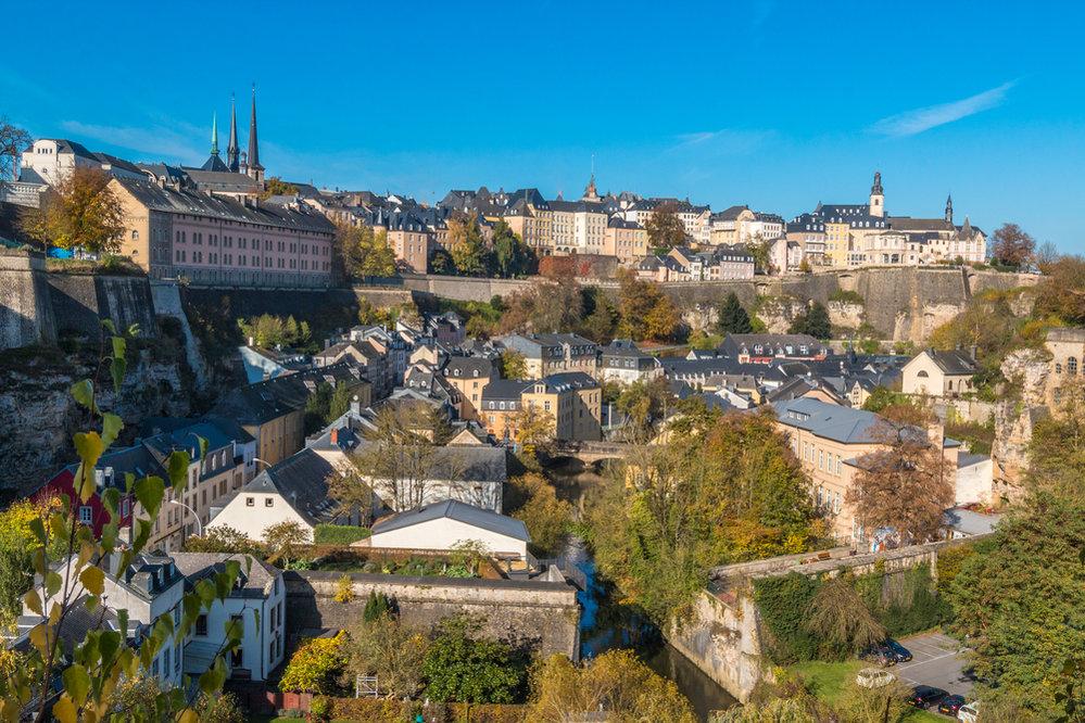 Hlavní město Lucemburk
