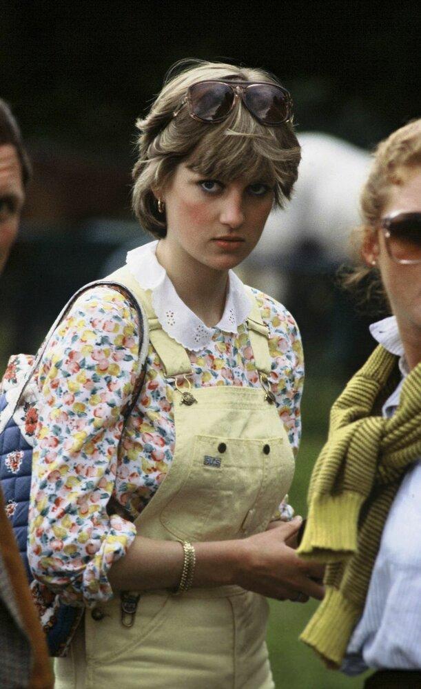 Lady Diana krátce před svatbou v červenci 1981