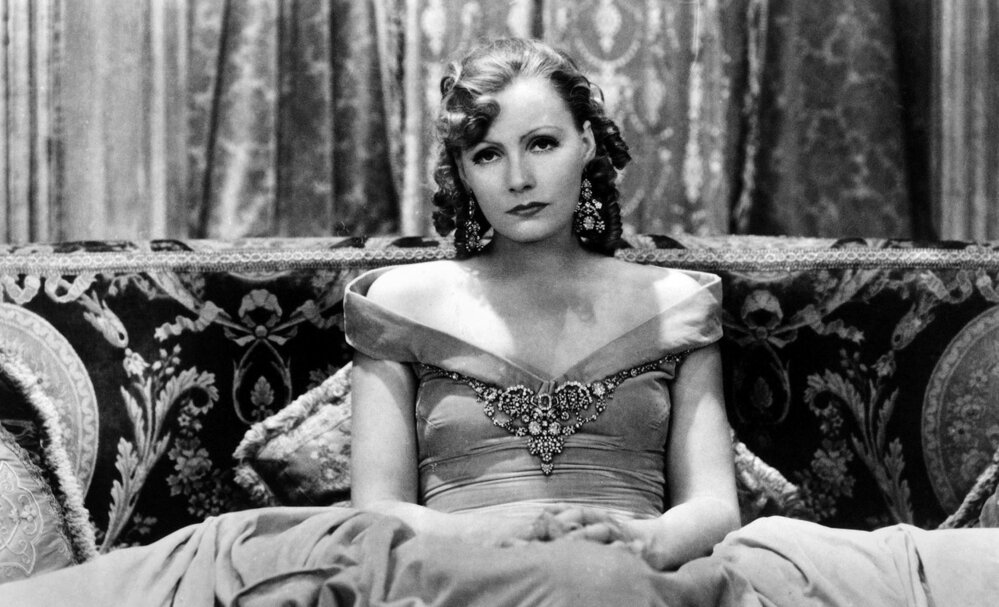 Greta Garbo zářila zejména v němých filmech.