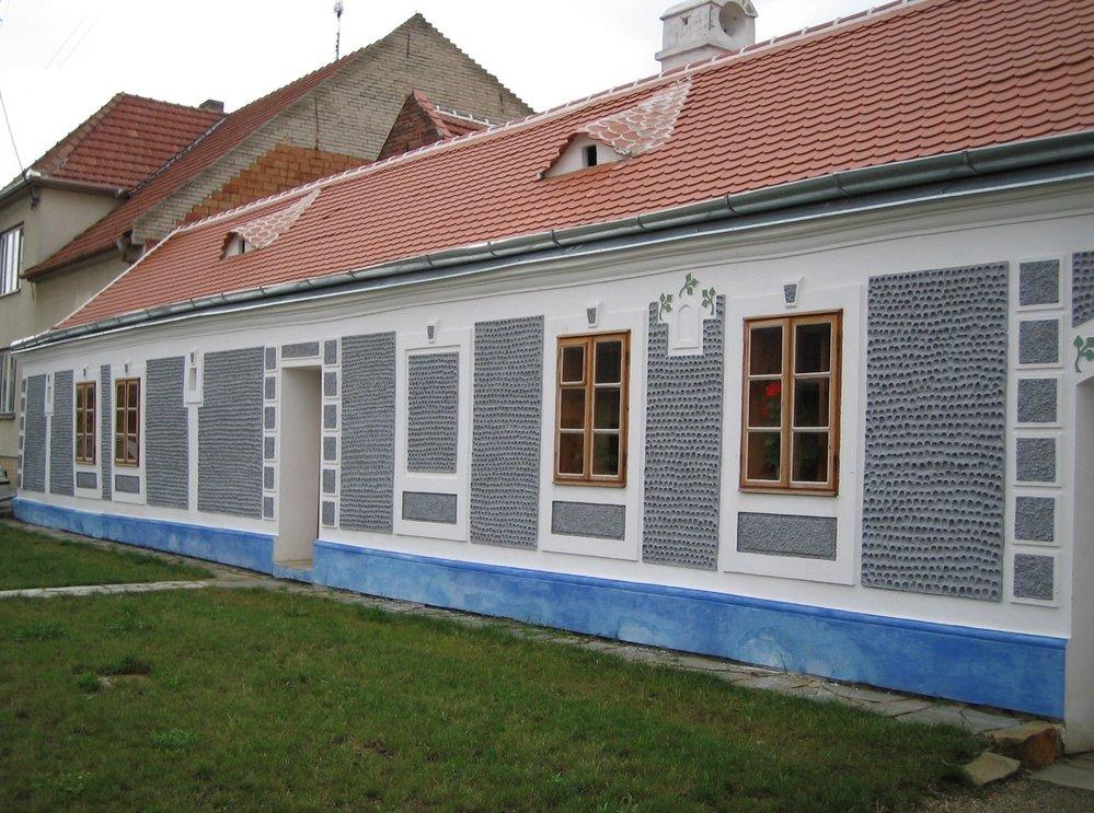 Rodný dům bratří Uprků, ve kterém se nachází muzeum