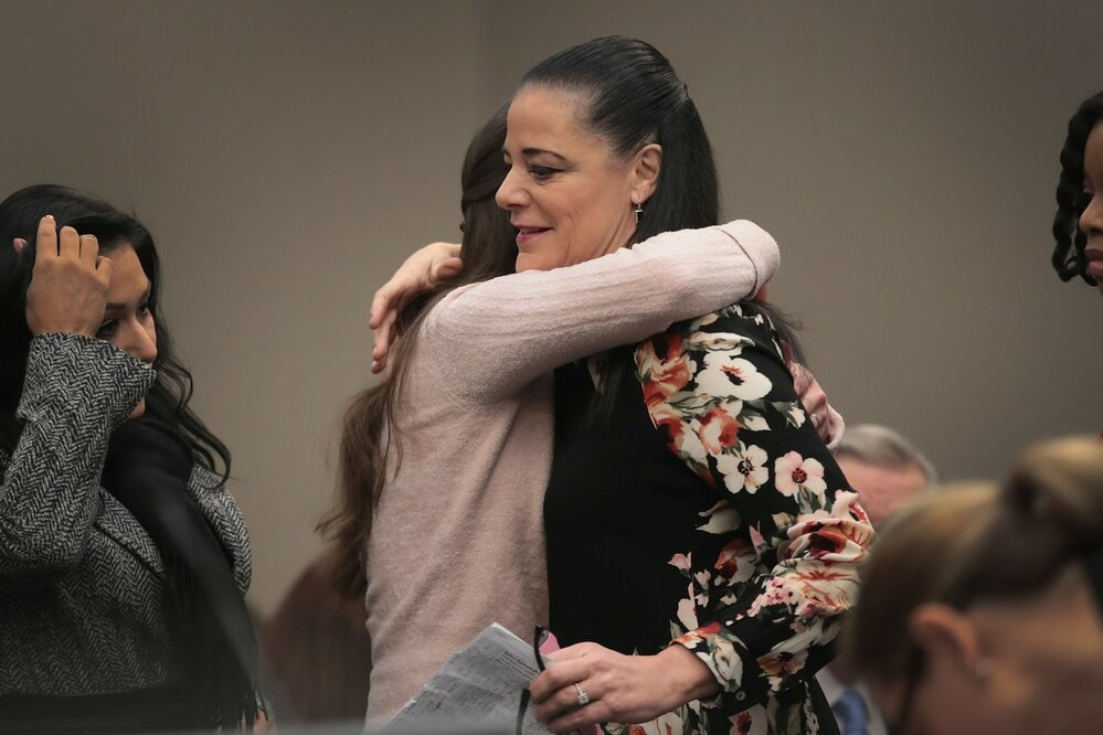 Ženy, které Larry Nassar zneužíval promluvily u soudu.