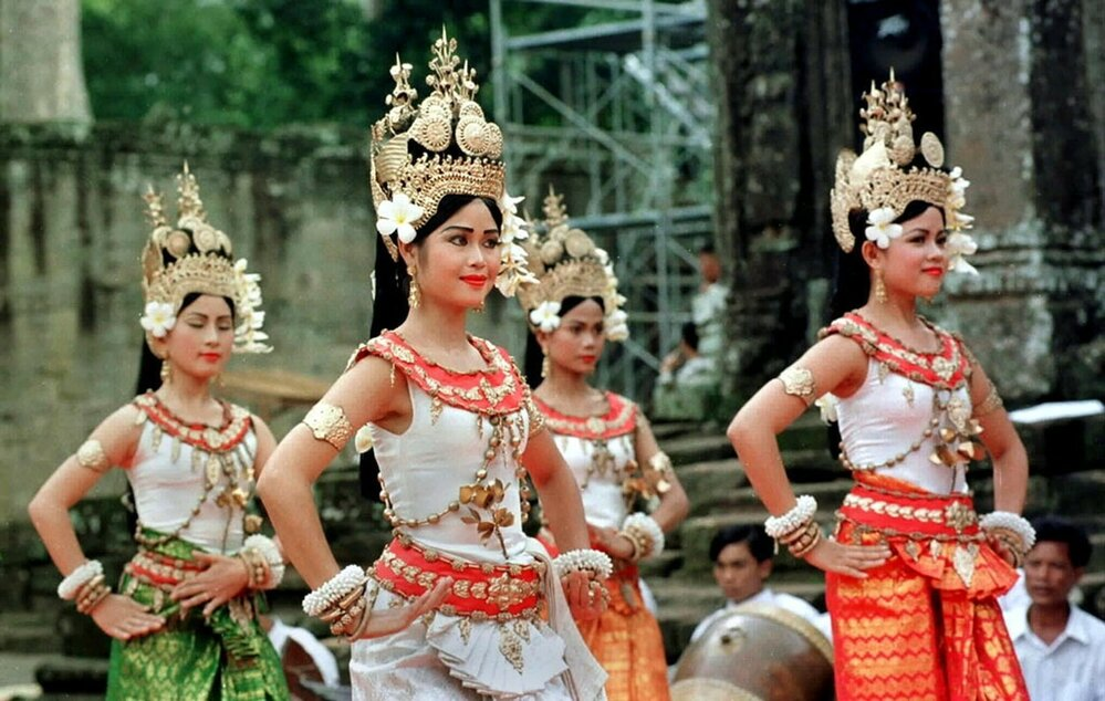 Tradiční tanec apsar je dnes kulturním dědictvím