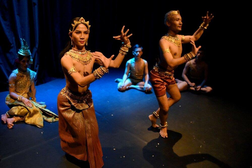 V moderním pojetí se do tance zapojují i muži