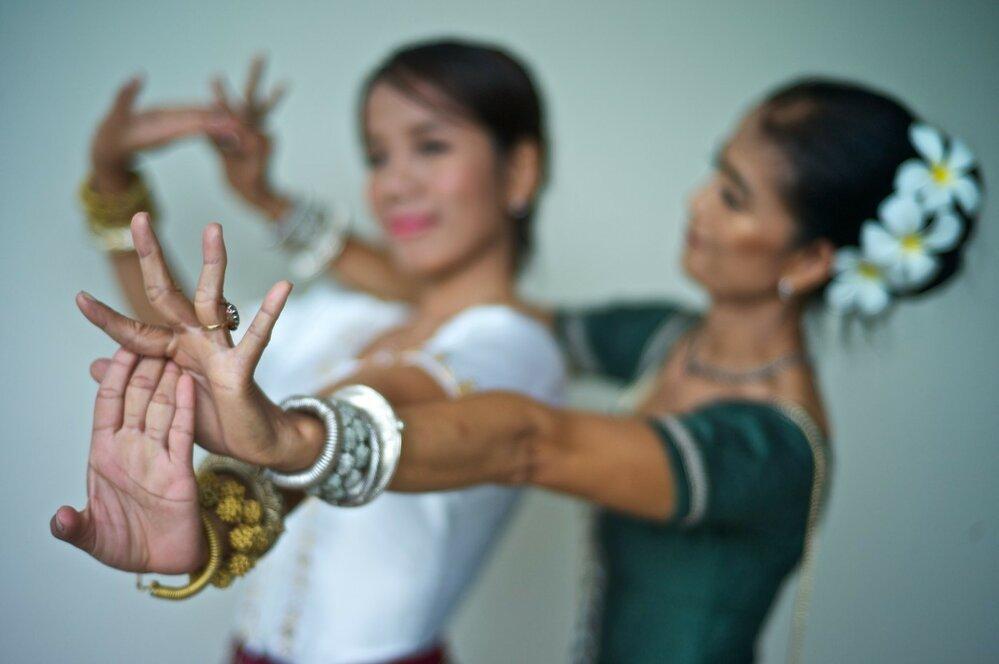 Pohyby rukou jsou pro tanec apsar velmi důležité