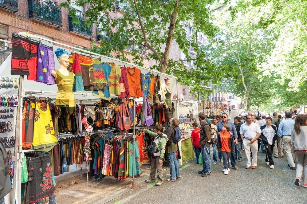 Madridský bleší trh Rastro