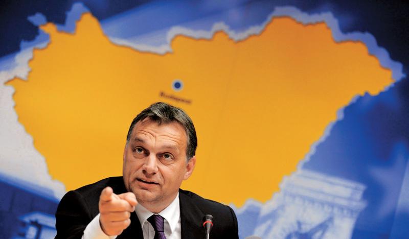 I tebe chceme, Česko! Viktor Orbán