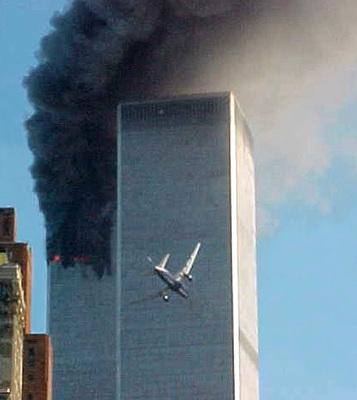 Autentické foto z 11. září 2001.