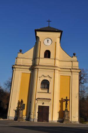 Kostel v Karviné má náklon 6,8 stupně.