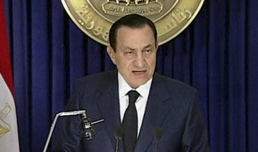Prezident Mubarak prohlásil, že v zářijových volbách nebude kandidovat na prezidenta.
