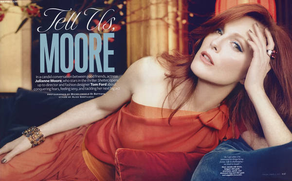 Julianne moore;