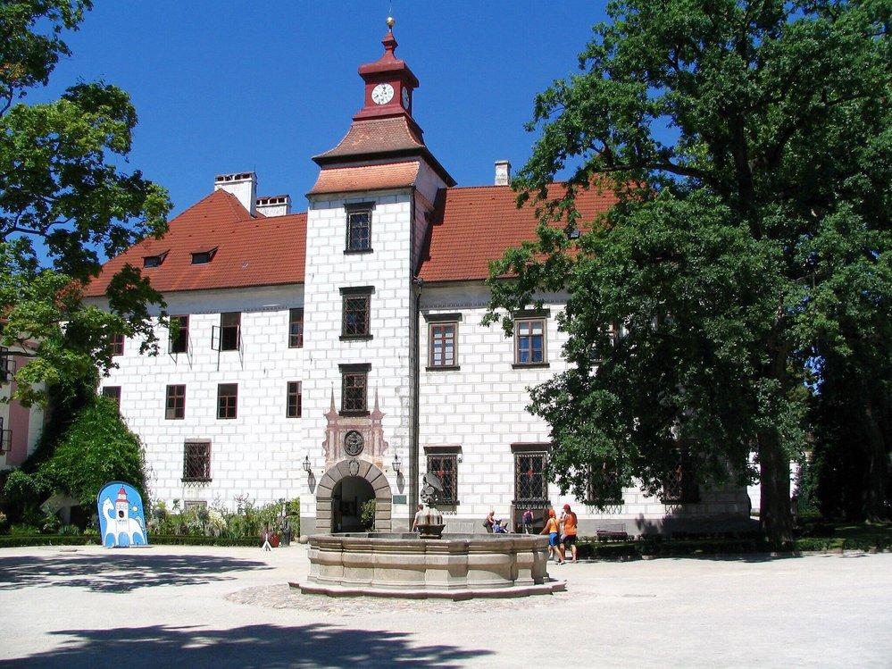 Renesanční zámek Třeboň