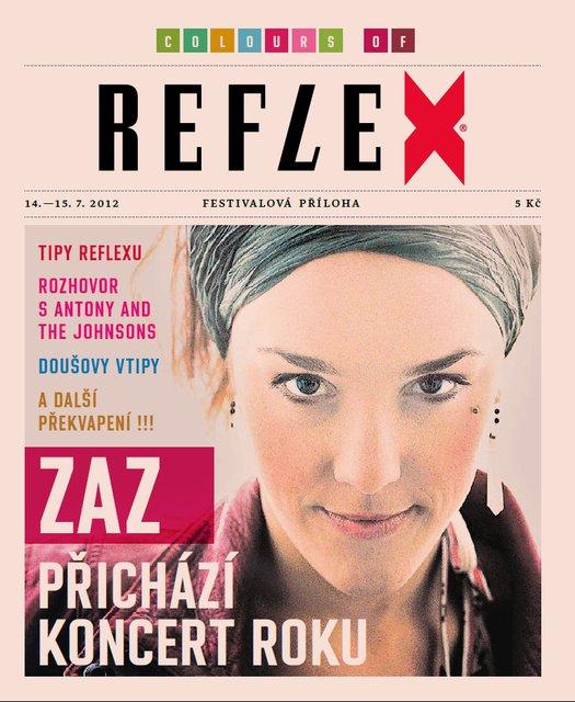 Zaz se dostala i na obálku unikátního festivalového vydání Reflexu