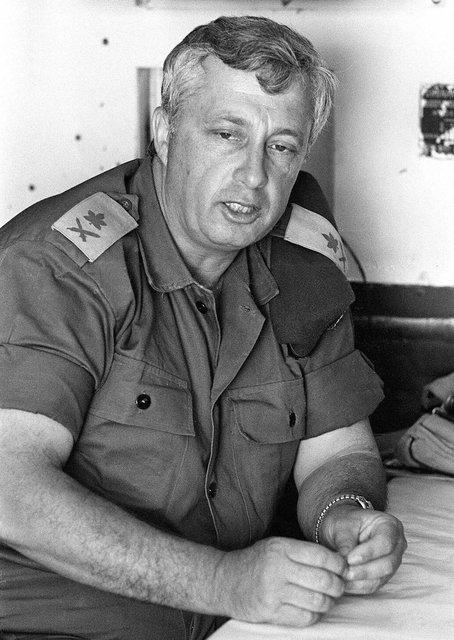 Ariel Šaron byl geniální voják