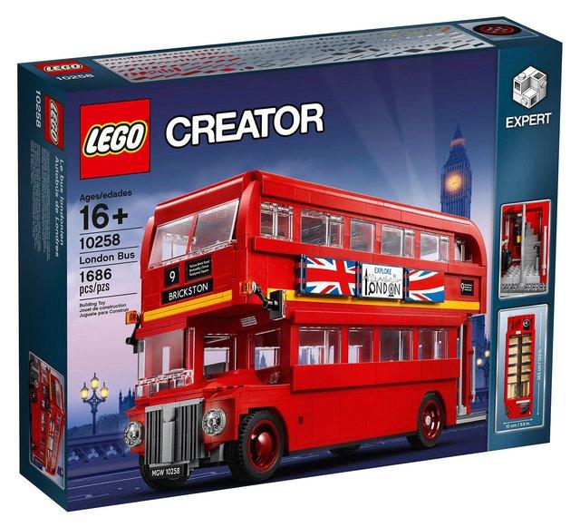 Lego chystá novou hračku pro velké kluky: legendární londýnský double-decker
