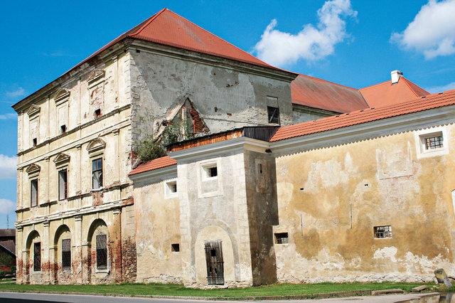 Kestřanský zámek (17. století)