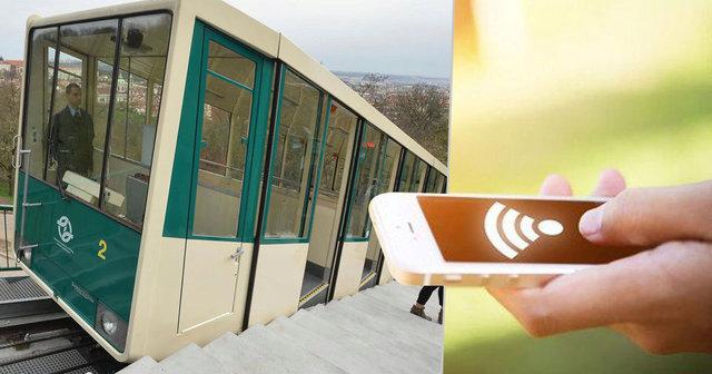 Lanovka na Petřín projíždí Wi-Fi signálem
