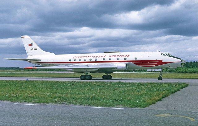 TU-124 ve službách ČSA
