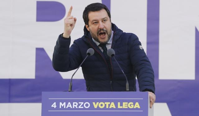 Matteo Salvini, lídr italské Ligy severu