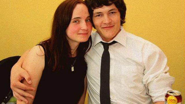 Zavražděný Ján Kuciak (+27) se svou přítelkyní Martinou (+27), která byla zastřela s ním.
