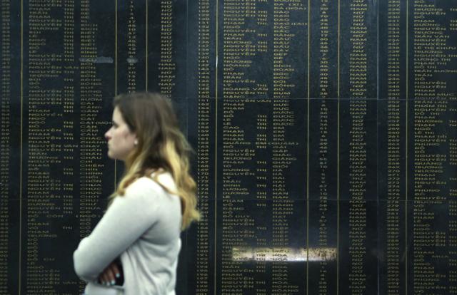 Památník ve Vietnamu nese jména všech obětí řádění amerických vojáků v My Lai
