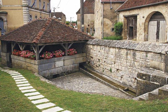 Lavoir v Rupt-sur-Saône