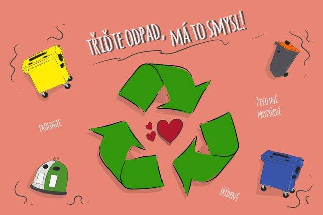 Třídění odpadu má smysl.