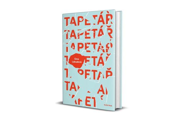 Obálka novely Emy Labudové Tapetář