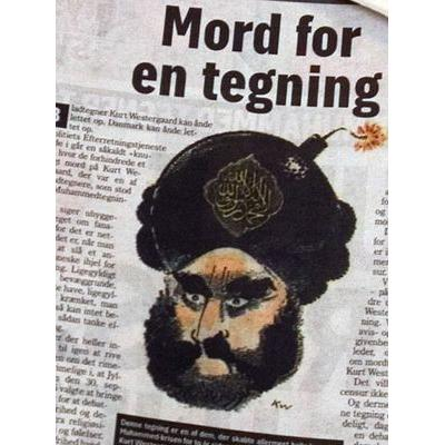 Kariktura proroka Mohameda z roku 2008, která pobouřila muslimy