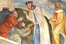 Svatý Václav je častým námětem historických děl