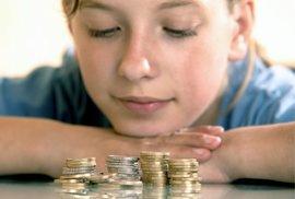 Dítě by mělo znát hodnotu peněz.