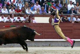 OSN: Korida není pro děti, býčí zápasy mají být nepřístupné. Ve Španělsku se ale toreadorství učí už ve školách