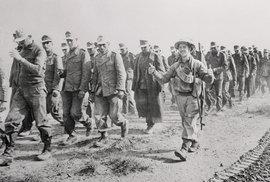 Zajatí němečtí vojáci v Tobruku