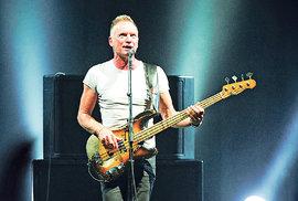 Sting potěšil fanoušky v Praze