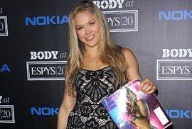 Ronda Rousey na vyhlášení cen televize ESPN
