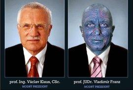 Budeme mít dalšího modrého prezidenta? Na Facebooku boduje Vladimír Franz