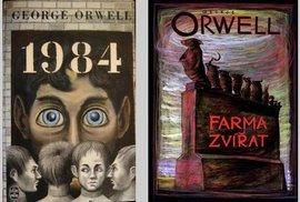 Králem našich obýváků je zatím George Orwell. Vypovídá to snad o něčem?