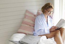 Práce z domova se často změní ve volný čas.