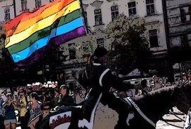 VIDEO: Víkendový pochod homosexuálů jako kreslený film