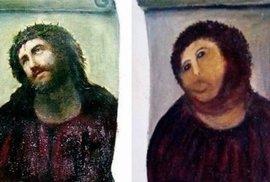 "Neberte nám zpackaného Ježíše! Internet soutěží v ""restauraci"" Ecce homo. Zkusíte to taky?"