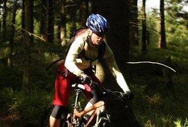 Šárka Korečková má ráda cyklodivočinu