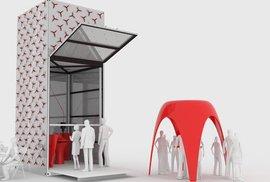 Brzo už si vytisknete nábytek i střechu nad hlavou. Holanďané vytvořili obří pojízdnou 3D tiskárnu