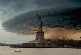 Úchvatné, že? Ve skutečnosti jde o  fotomontáž ze snímku hurikánu pořízeného v roce 2004.