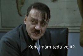Adolf Hitler k českým prezidentským volbám nepůjde