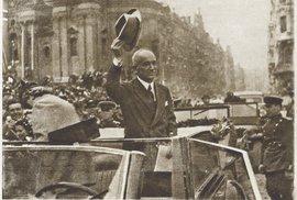 Československý prezident Edvard Beneš