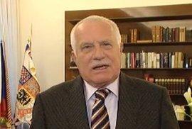 """Václav Klaus: """"Nic nekončí, jedeme dál."""" A vy mi můžete…"""