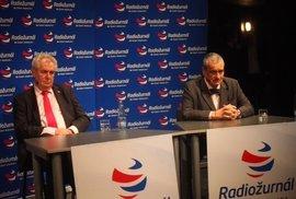Duel prezidentských kandidátů v divadle Minor
