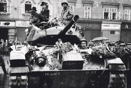 Jako seržant americké armády nafotil James Duncan (87) v květnu 1945 zhruba 100 fotografií z osvobozování Plzně a západních Čech.