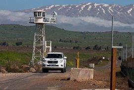 Proč modré přilby prchají z Golan