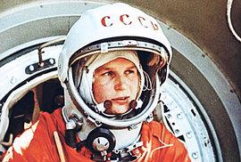 Před 55 lety se Valentina Těreškovová vydala jako první žena do vesmíru. Podívejte…